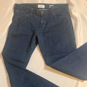 Dark washed Sonoma skinny jeans size 12